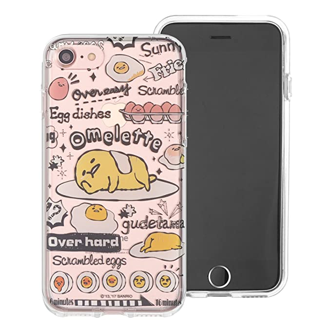 separation shoes b2c09 f9528 iPhone 6S / iPhone 6 Case Gudetama Cute Clear Jelly Cover for Apple iPhone6  / iPhone6S (4.7inch) - Fun Gudetama