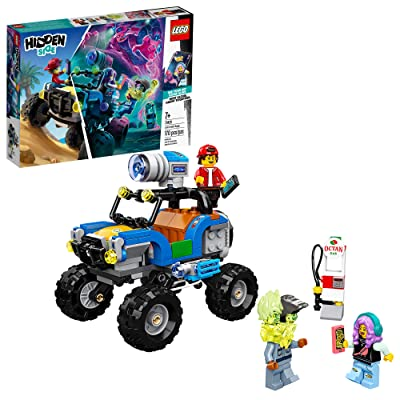 LEGO Hidden Side Jack's Beach Buggy 70428 Popular Ghost Toy, Cool Augmented Reality, New 2020 (AR) Play Experience for Kids (170 Pieces): Toys & Games