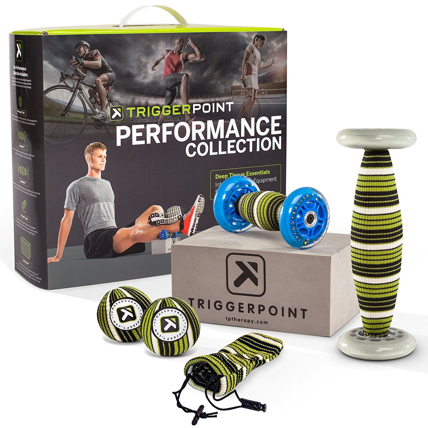 Trigger Point Performance Collection for Total Body Deep Tissue Self-Massage (6 Piece) by Trigger Point Performance [並行輸入品]   B01AL440SC