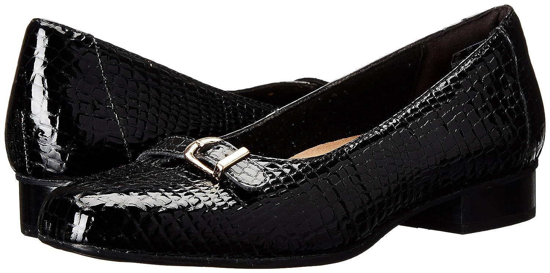 Clarks Woherren Woherren Woherren Keesha Raine Dress Pump schwarz Crocodile Patent Leather 6.5 M US f9a8a6
