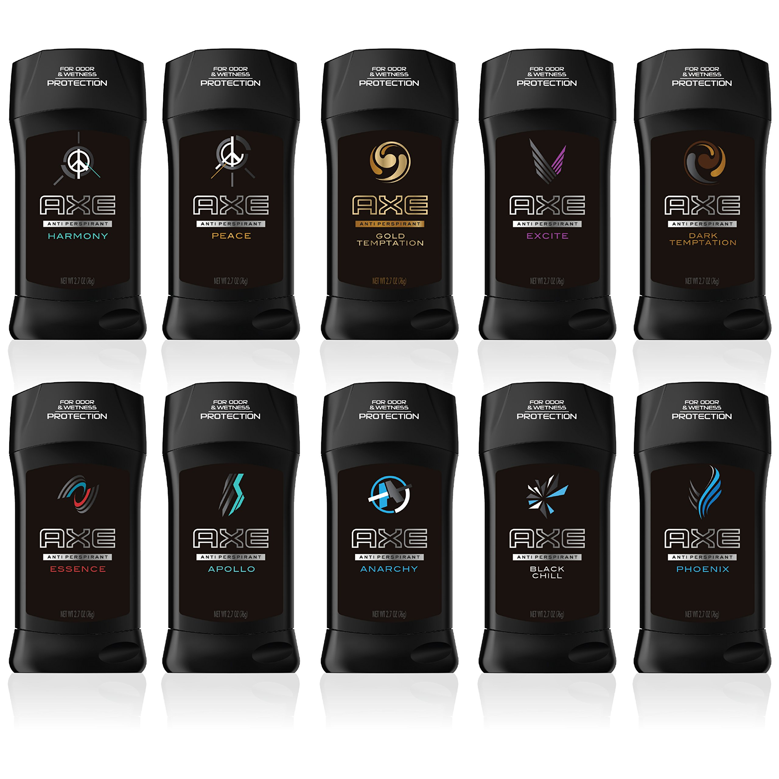 AXE Antiperspirant Deodorant Stick for Men, Excite, 2.7 Ounce (Pack of 6) by AXE (Image #5)