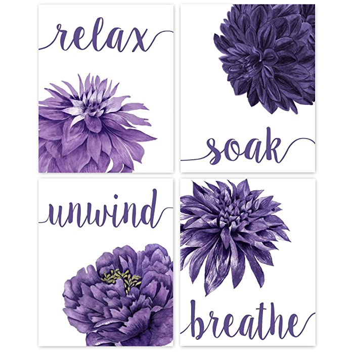 Top 9 Grey And Purple Wall Decor