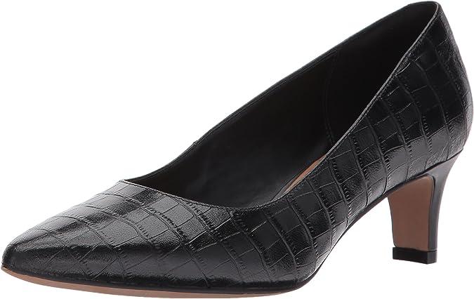 Giotto Dibondon Contracción Contra la voluntad  Amazon.com: Clarks Crewso zapato de vestir de taco para mujer: Shoes