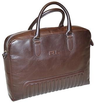 b303759ed3a9 Ralph Lauren Men Quilted Calfskin Briefcase (OS