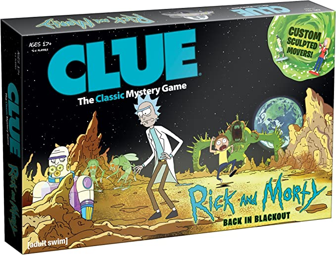Rick and Morty Clue Board Game: Amazon.es: Juguetes y juegos