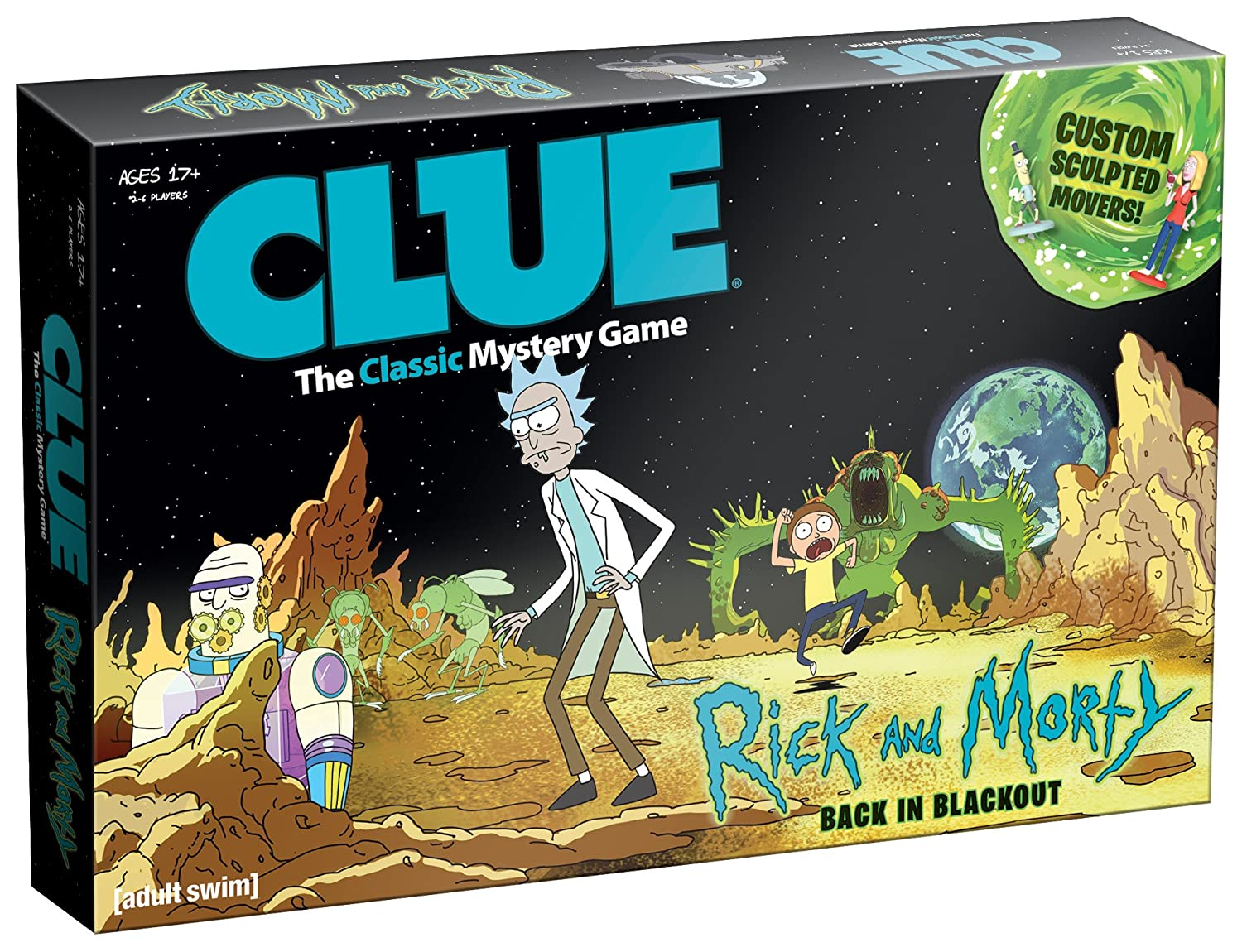 Cryptozoic Entertainment Rick And Morty Anatomy Park Game Tile
