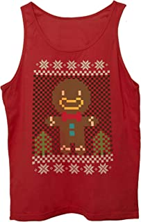 Canotta Christmas-Natale-Biscotto-Omino-Pan-di-Zenzero-Cookie-Man - Eventi Choose ur Color