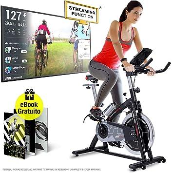 Sportstech - Bicicleta estática profesional SX200 con control a ...