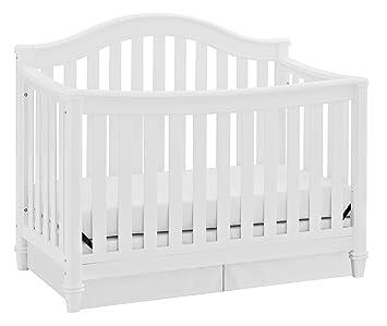Amazon Com Thomasville Kids Auburn 4 In 1 Convertible Crib White