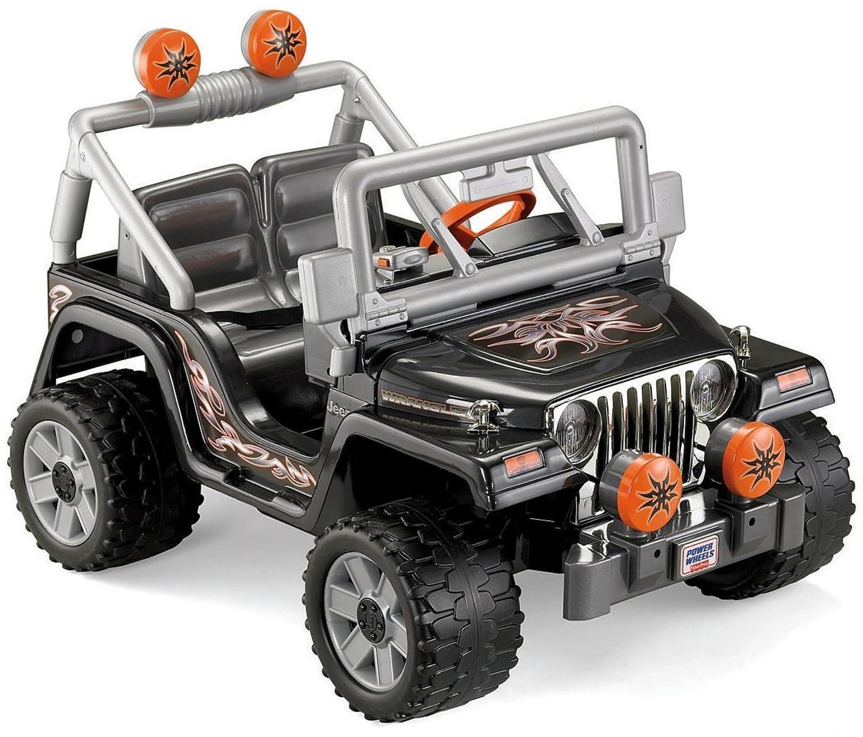 Amazon Fisher Price Power Wheels Tough Talking Jeep Wrangler