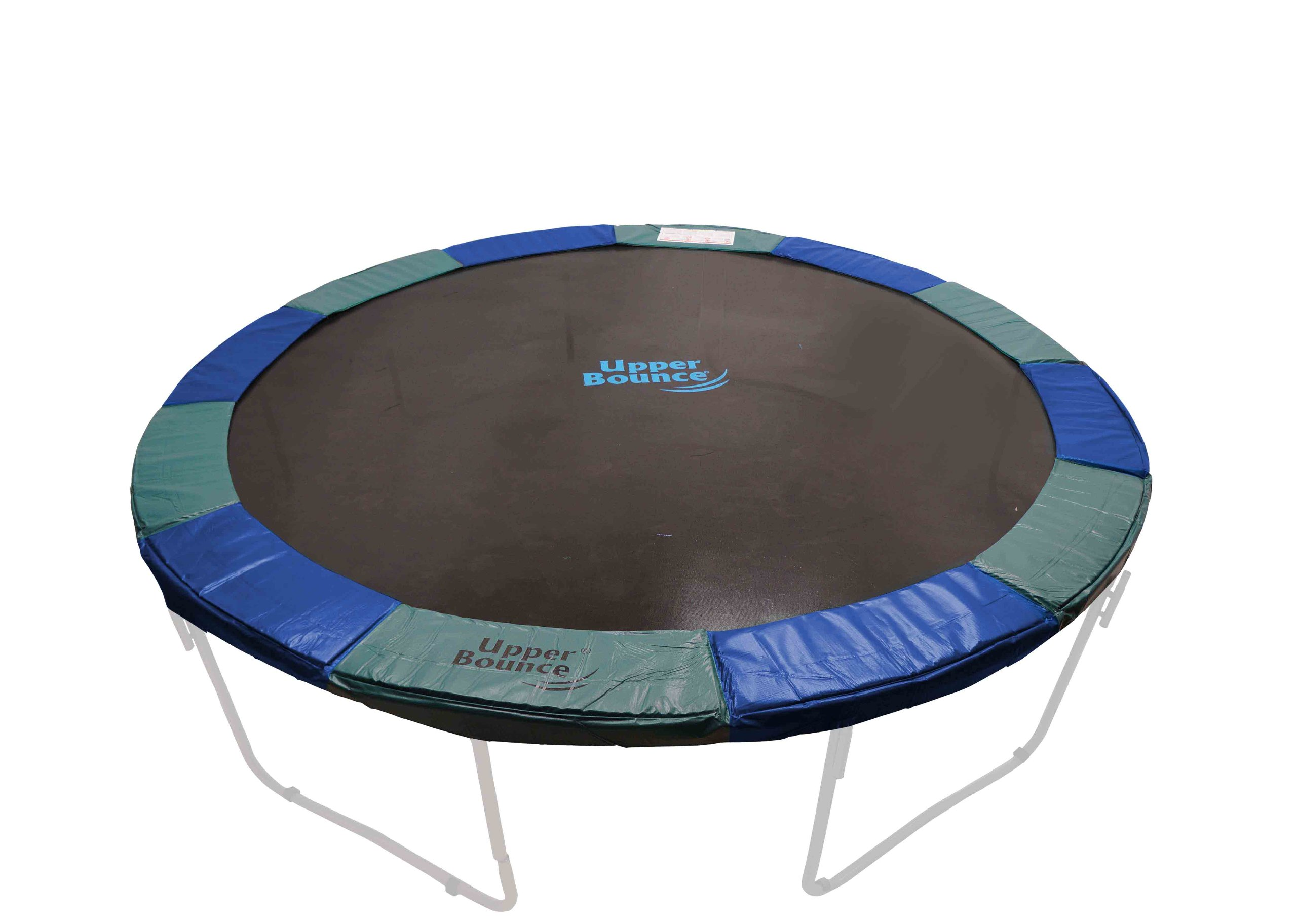 Upper Bounce Trampoline Safety Pad, 15-Feet x 10-Inch, Blue/Green by Upper Bounce