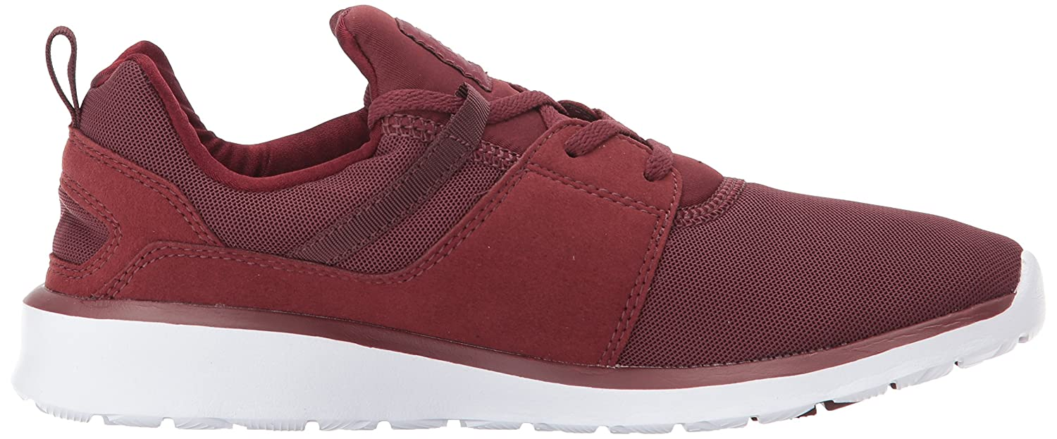 DC Men's Heathrow Casual D Skate Shoe B06Y5J772F 10 D Casual D US|Burgundy cf6805