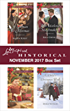 Love Inspired Historical November 2017 Box Set: A Lawman for Christmas\Mail-Order Christmas Baby\Their Mistletoe Matchmakers\A Child's Christmas Wish
