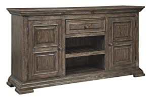Signature Design By Ashley - Wyndahl Dining Room Server - Casual Style - Rustic Brown