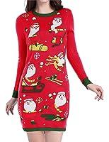 V28 Christmas Sweater Dress, Women Ugly Happy...