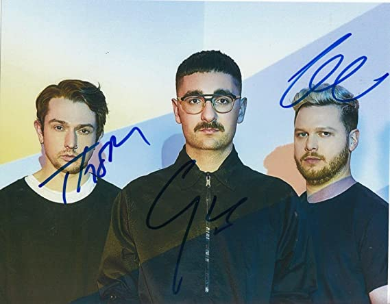 Alt J Group Signed 8x10 Photo W Coa An Awesome Wave Breezeblocks