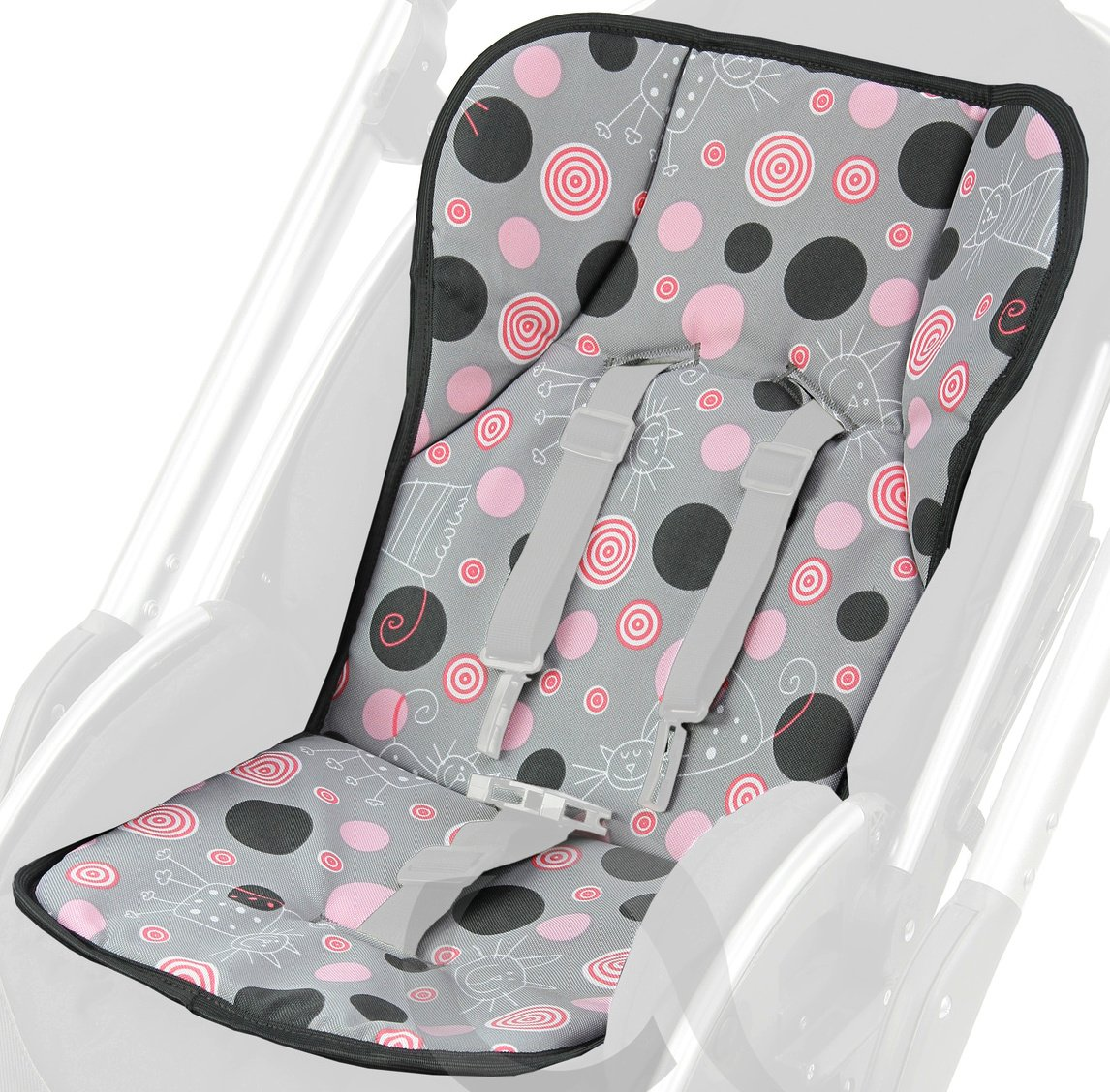 Luxury Foam insert liner. Pushchair, Buggies, Strollers, Car Seats reducer (p75) olobaby
