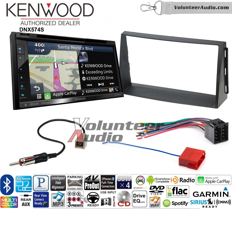 ボランティアオーディオKenwood dnx574sダブルDINラジオインストールキットwith GPSナビゲーションApple CarPlay Android自動Fits 2010 – 2011 Kia Soul B07C1ZZ3G8