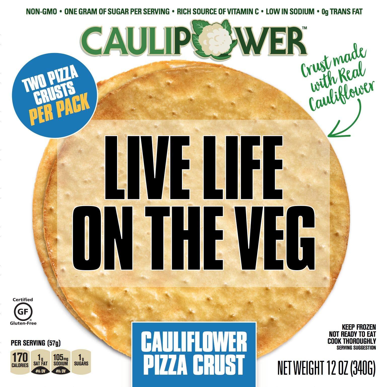 Caulipower, Pizza Crust, 2-pack, 12 oz