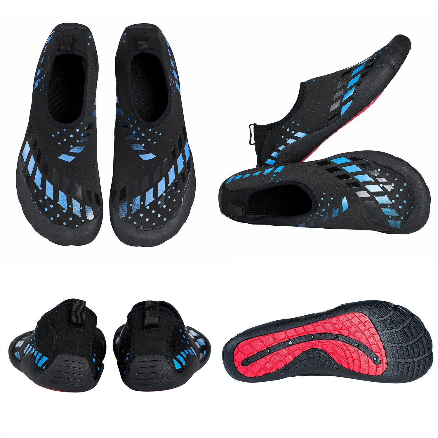 Water Shoes Quick Dry Aqua Water Shoes Beach Walking Swming Yoga Exercise by Youweb (Image #2)