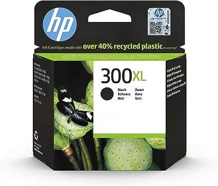 Oferta amazon: HP 300XL CC641EE, Negro, Cartucho de Tinta de Alta Capacidad Original, compatible con impresoras de inyección de tinta HP DeskJet D2560, D2660, F4280, F4224, F4283; Photosmart Serie C