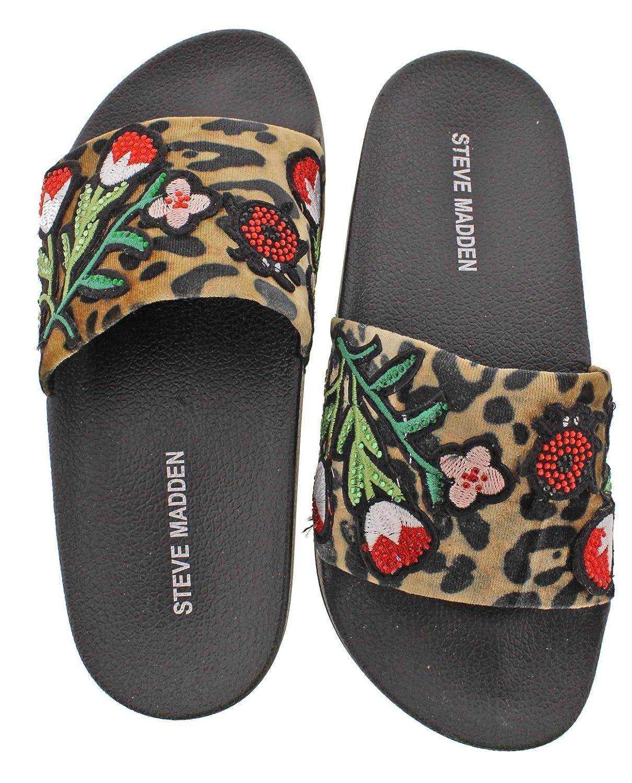 新入荷 [スティーブマデン] leopard B01N98AEU7 Womens Womens Patches Open Toe Casual Slide Sandals [並行輸入品] B01N98AEU7 5 B US Womens leopard multi leopard multi 5 B US Womens, ウエストオーシャンベース:4307fa49 --- arianechie.dominiotemporario.com