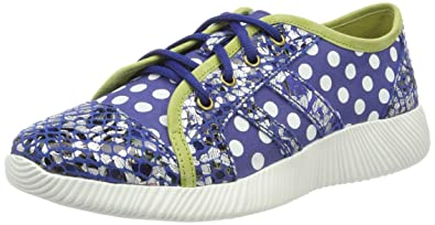 Laura Vita Damen Delphine 11 Sneaker, Schwarz (Noir), 35 EU