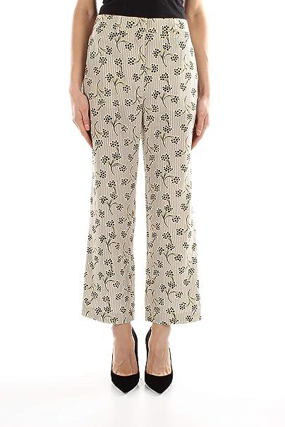 timeless design 2a113 c4456 Prada Pantaloni Donna - Seta (P285ACCDCMIMOSA): Amazon.it ...