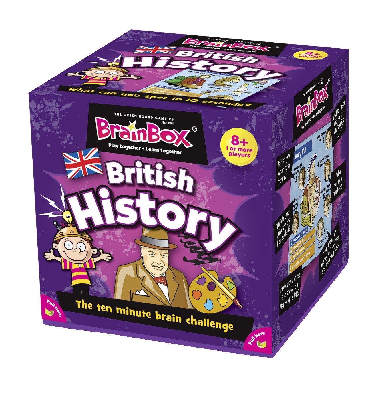 The Green Board Game Co. BrainBox - British History