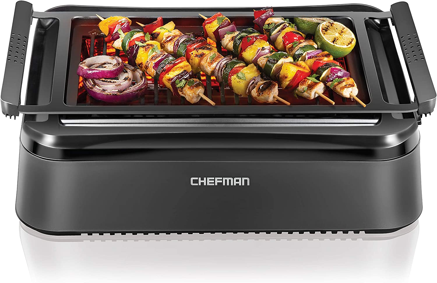 Best infrared grill-Best temperature: Chefman Electric Smokeless infrared grill