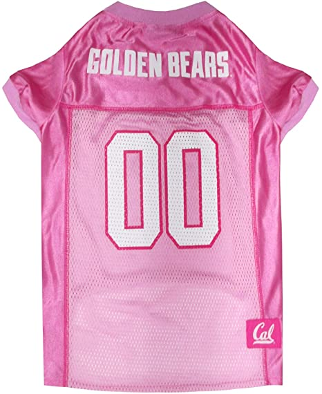 Amazon.com   NCAA California Golden Bears Berkeley Dog Pink Jersey ... 59cbe8620