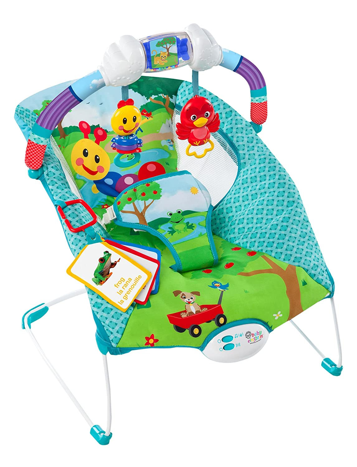 Amazon: Baby Einstein Caterpillar's Day At The Park Bouncer: Toys &  Games