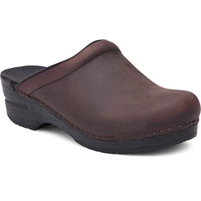 Dansko Women's Sonja Oiled Leather Clog | Mules & Clogs