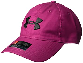 sale retailer 25a0a 6a22a Under Armour Men s Golf Chino 2.0 Cap, Charged Cherry (635) Black,