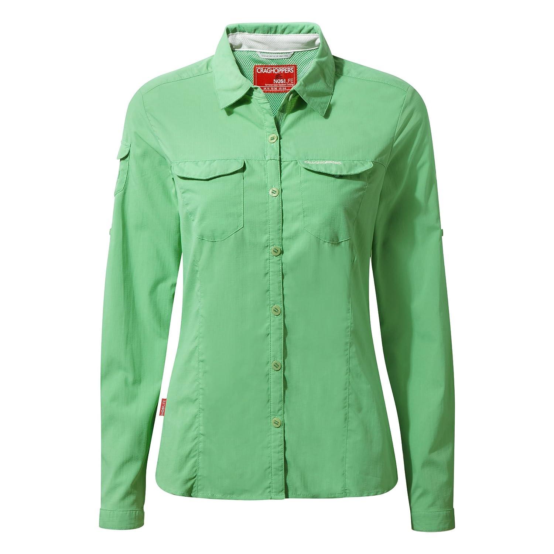 Craghoppers Womens NosiLife Adventure Long Sleeve Shirt