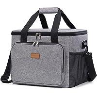 Lifewit kylväska termoväska Cooler Bag lunchväska termosväska picknickväska isolerad vikbar för mattransport
