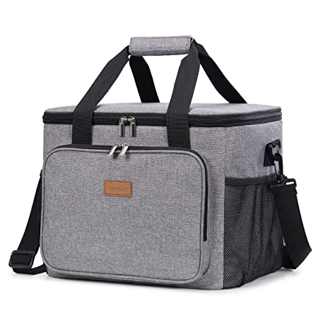 Lifewit 24L(40can) Nevera Flexible Bolsa Isotermica Grande Playa ...
