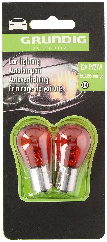 Grundig Automotive 99043 Autolampen 12V PY21W Orange