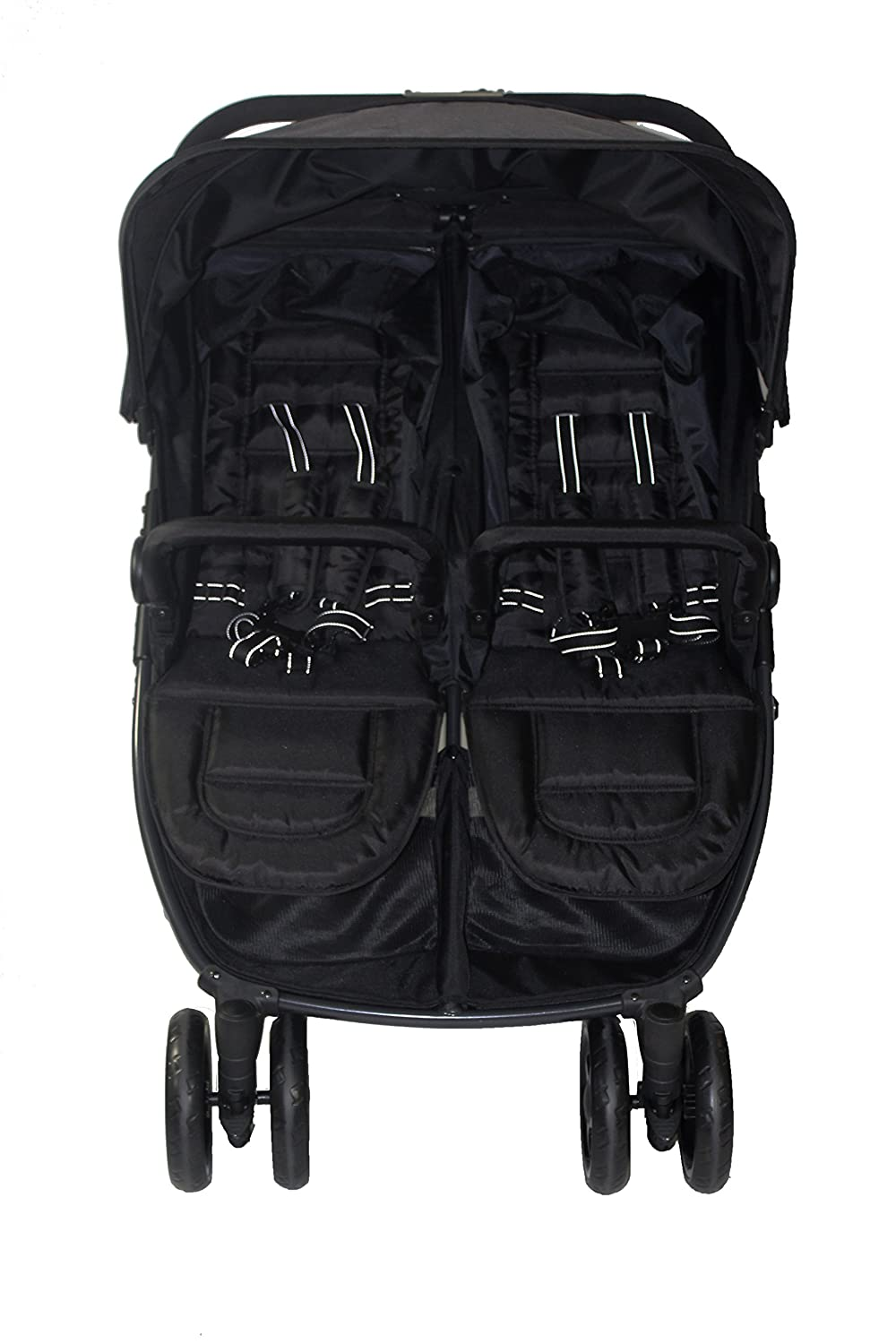 RedKite Push Me Black Frame Twini Twin Jogger Pushchair New Colour And New Model 2017 Design