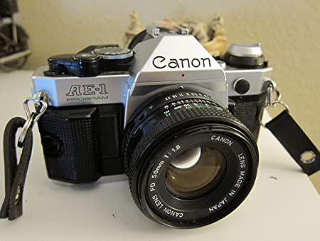 Review Vintage Canon AE-1 Program