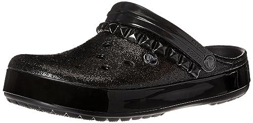 66dd6bff2a48b6 crocs Unisex Crocband Studded Clog Mule