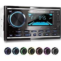 XOMAX XM-2R422 Radio de Coche con Bluetooth I RDS I Am, FM I