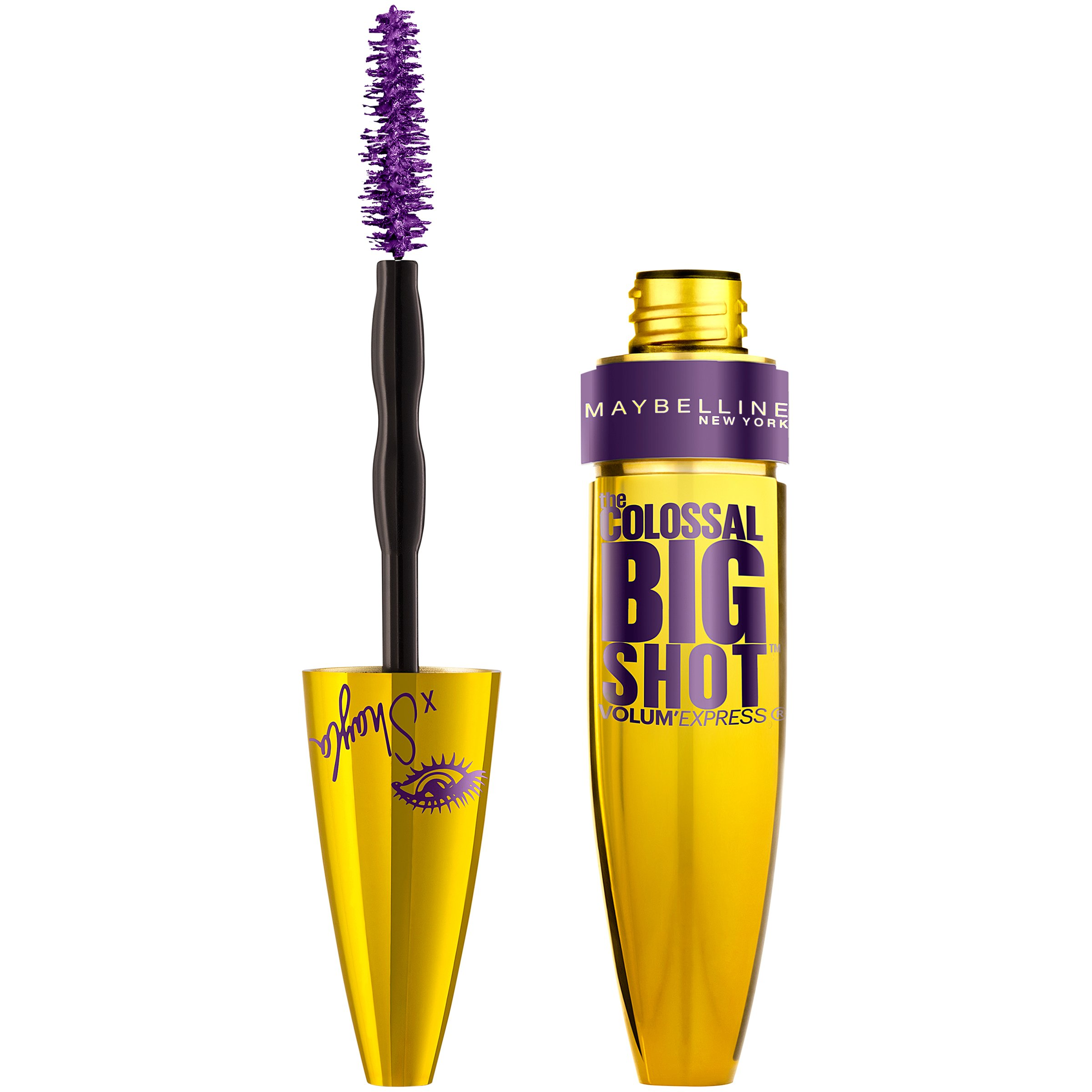 Maybelline New York Volum Express The Colossal Big Shot Mascara X Shayla, Poppin