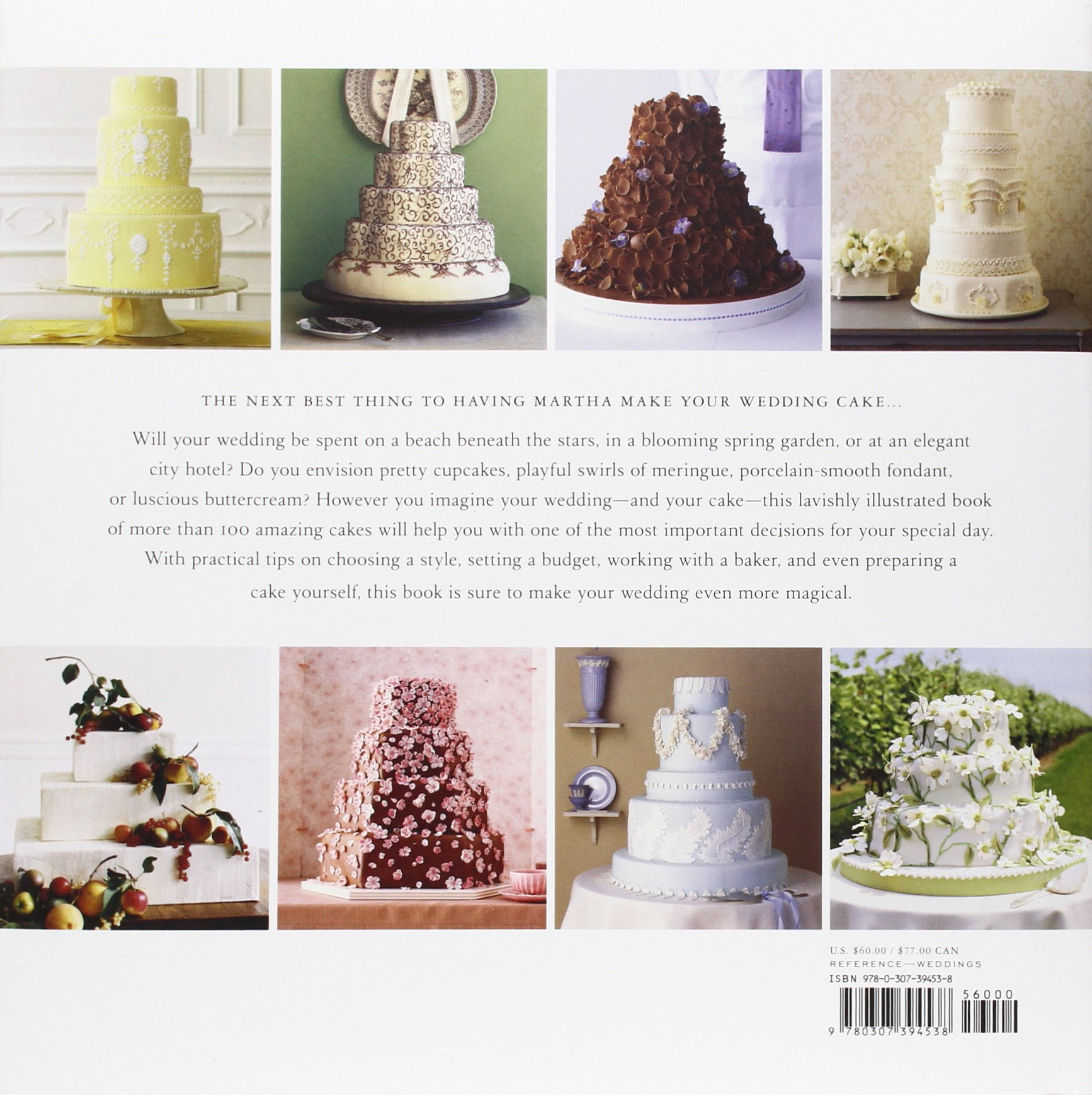 Martha Stewart\'s Wedding Cakes: More Than 100 Inspiring Cakes--An ...