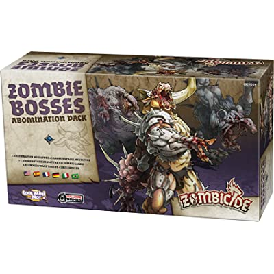 CMON Zombicide BP: Zombie Bosses - Abomination Pack: Toys & Games