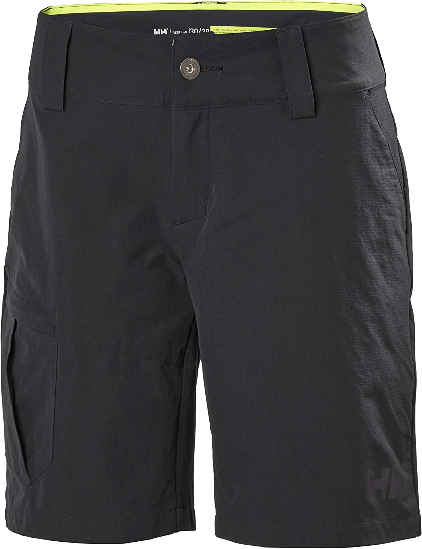 Schwarz Helly Hansen Damen Damen Shorts Qd Cargo Shorts