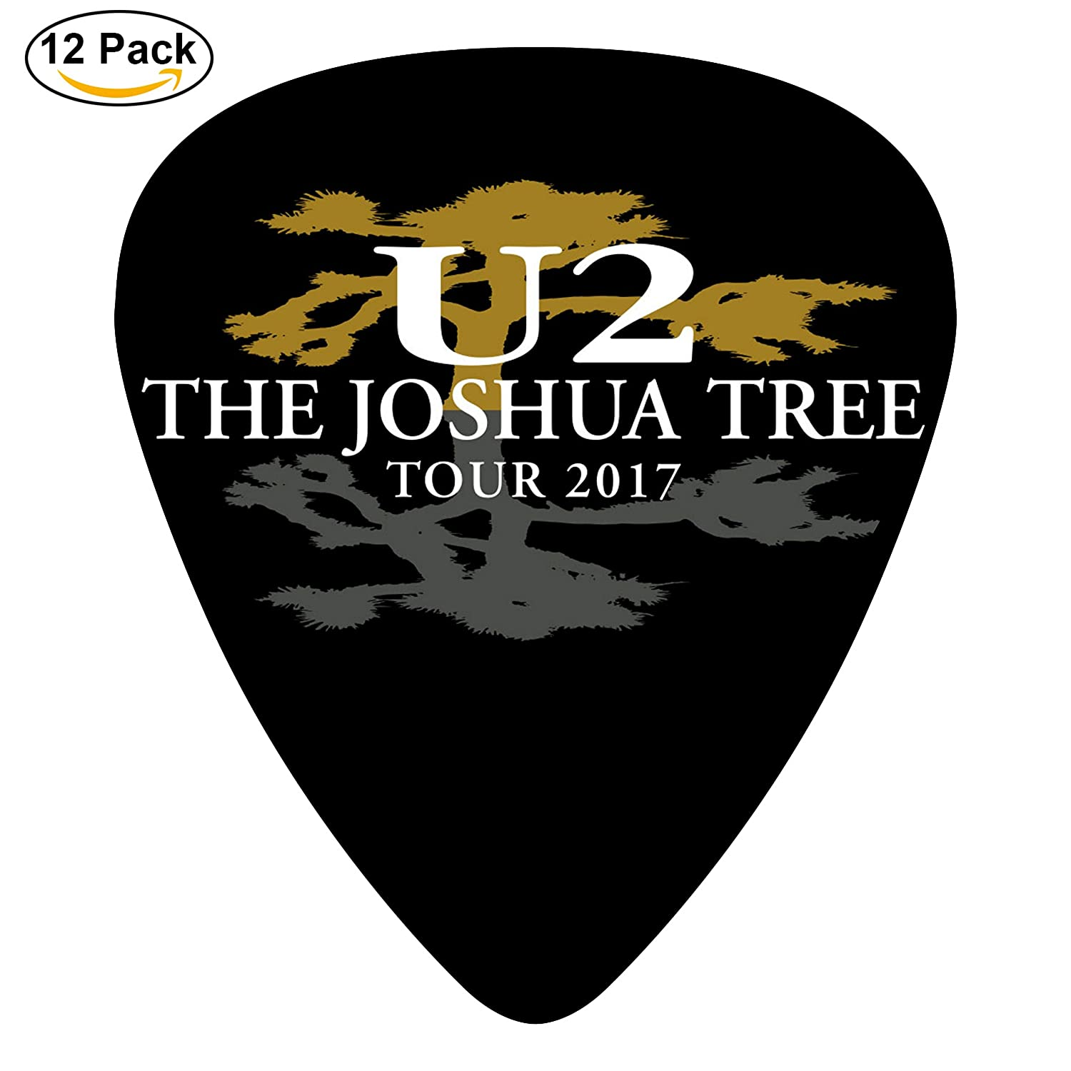 U2-Band-Logo Heart Specialty 3 D Printing Celluloid Guitar