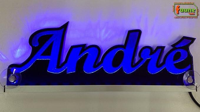 André Azul LED Camiones Truck Cartel o su nombre ...