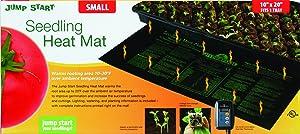 """Jump Start 9"""" x 19 1/2"""" Waterproof Seedling Heat Mat"""