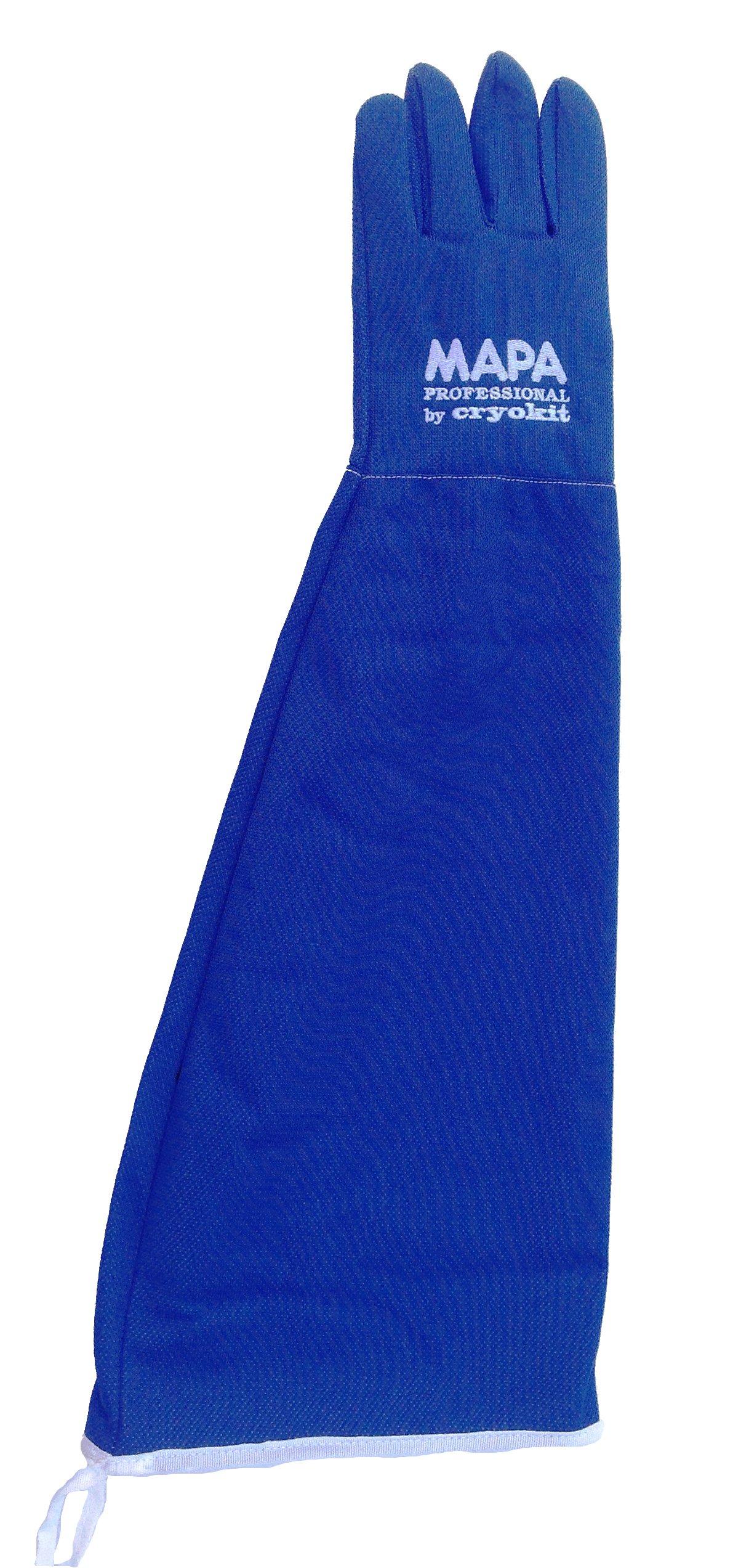 MAPA Professional CRYPLS216509 CRYOPLUS-2.1 65 Cryogenic Glove, Cryoplus 2.1 65 (26''-Sh), Size 9, PR 1, Blue